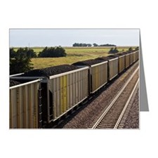 Coal Cars Note Cards (Pk of 20)