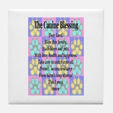 K9 Blessing Tile Coaster