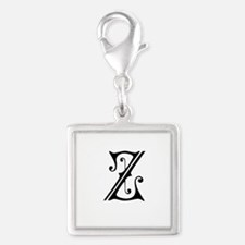 Royal Monogram Z Charms