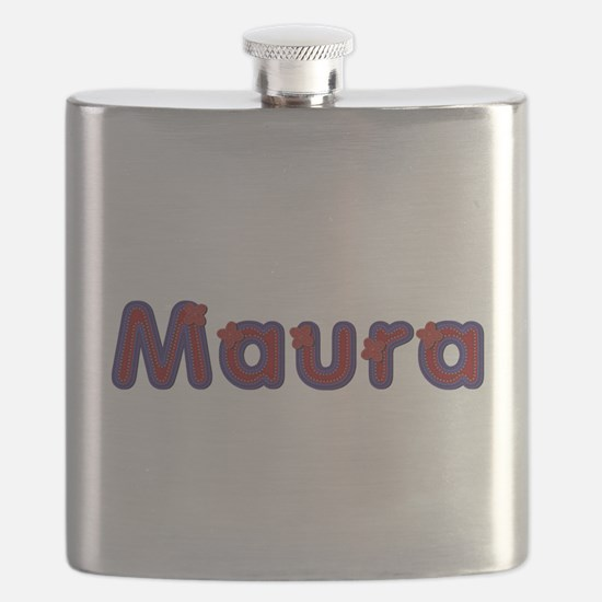 Maura Red Caps Flask