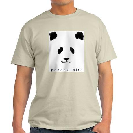 pandas bite Ash Grey T-Shirt