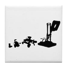 Unique Robot evolution Tile Coaster