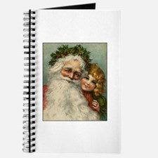 Classic Victorian Christmas Santa Journal