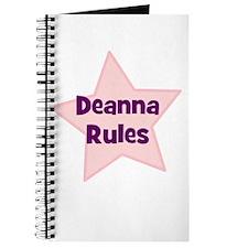 Deanna Rules Journal