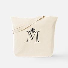 Winter Monogram M Tote Bag