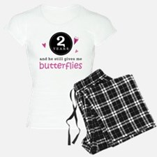 2nd Anniversary Butterflies pajamas