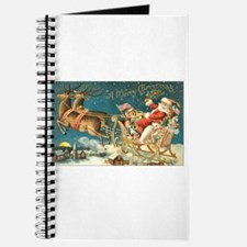 Victorian Santa Sliegh Flying Journal