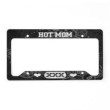 Hot Mom License Plate Holder
