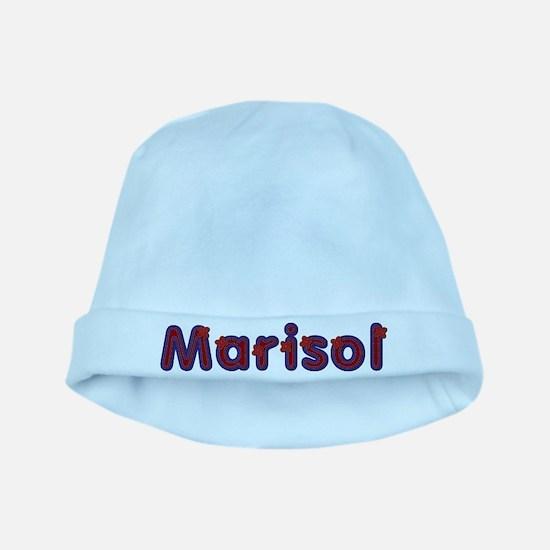 Marisol Red Caps baby hat