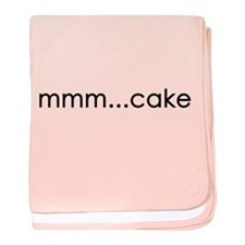 mmm...cake baby blanket