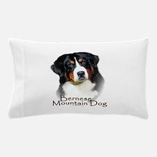 Cute Bernese mountain dog Pillow Case