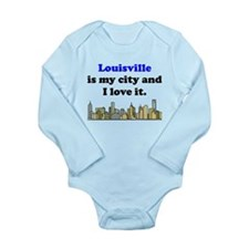 Louisville Is My City And I Love It Body Suit