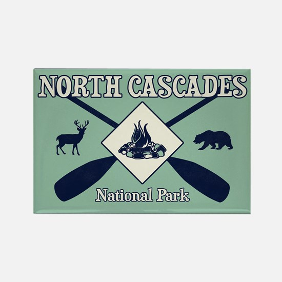 North Cascades National Park Camping and P Magnets