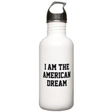 I Am The American Dream Water Bottle