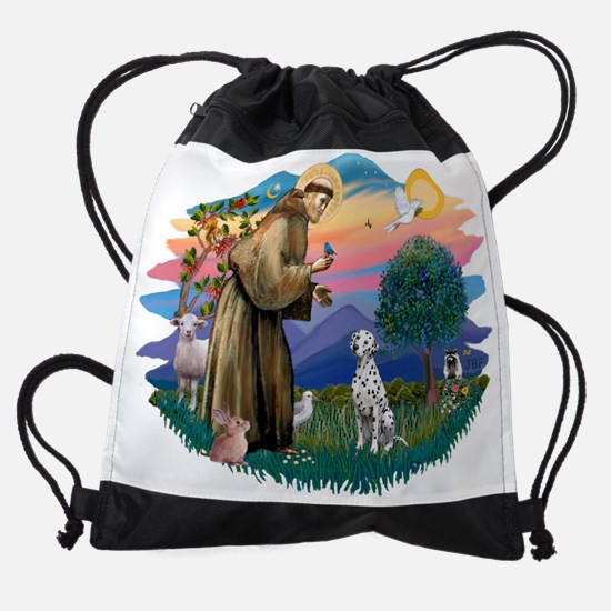 The Saint - Dalmatian.png Drawstring Bag