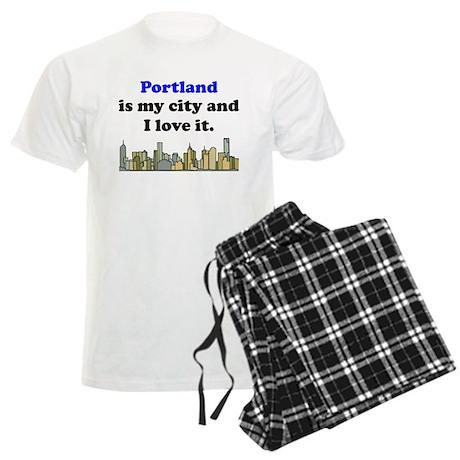 Portland Is My City And I Love It Pajamas