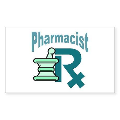 Pharmacist Mart Rectangle Sticker