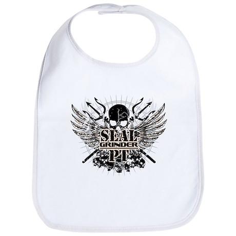 SEALgrinderPT skull logo Bib