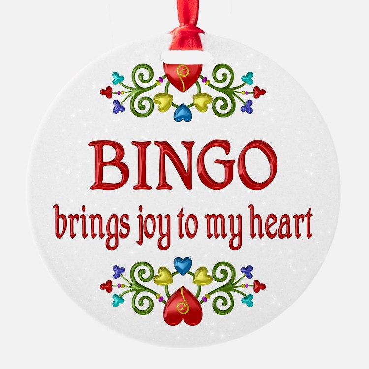 Bingo Joy Ornament