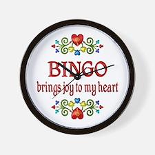 Bingo Joy Wall Clock