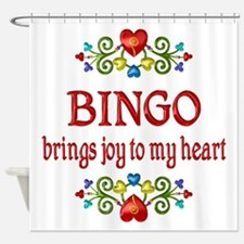 Bingo Joy Shower Curtain