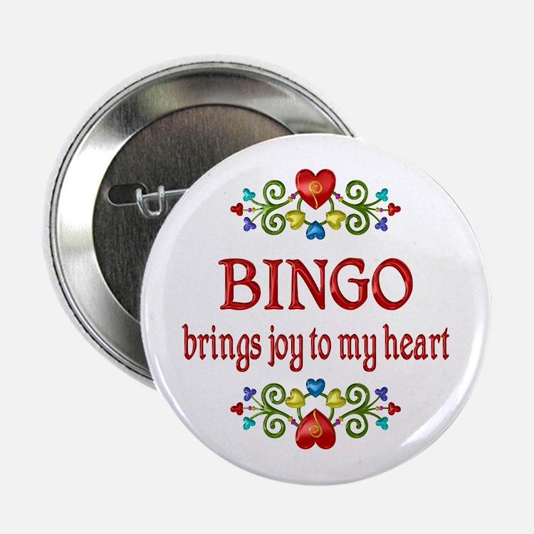 "Bingo Joy 2.25"" Button"