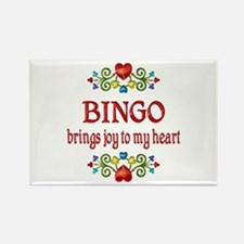 Bingo Joy Rectangle Magnet