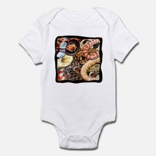 Snake Collage Infant Bodysuit