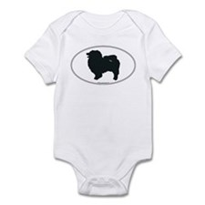 Keeshond Silhouette Infant Bodysuit