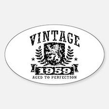 Vintage 1959 Sticker (Oval)