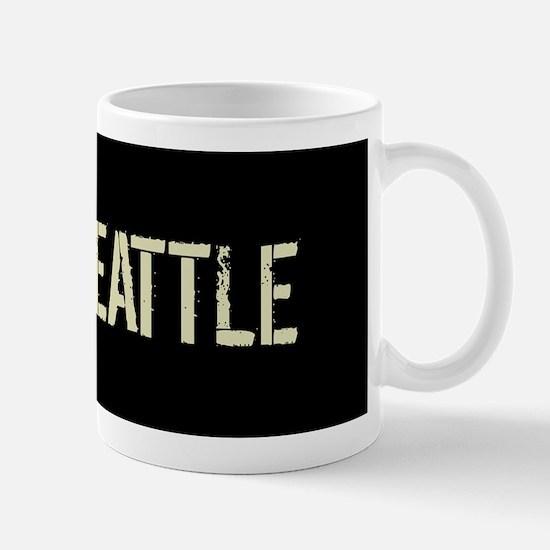 Black Flag: Seattle Mugs