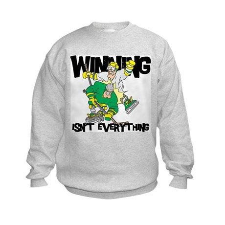Funny Hockey Kids Sweatshirt
