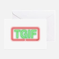 TGIF Greeting Card