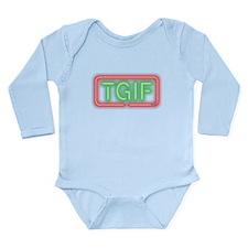 TGIF Long Sleeve Infant Bodysuit
