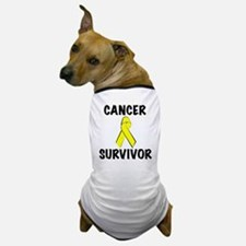 Cancer Survivor Dog T-Shirt