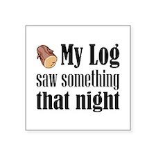 Log Lady Sticker