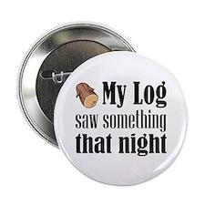 """Log Lady 2.25"""" Button"""