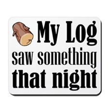 Log Lady Mousepad