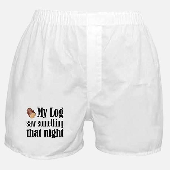Log Lady Boxer Shorts
