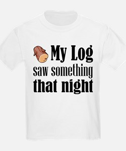 Log Lady T-Shirt