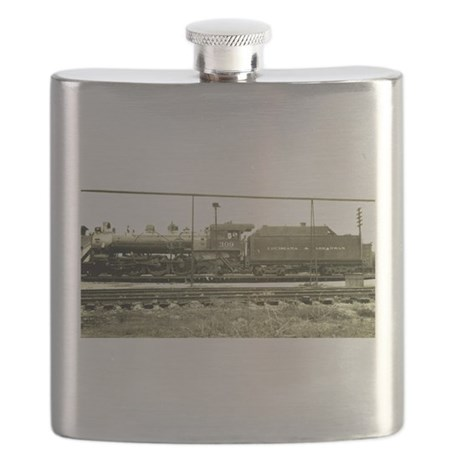 RailroadArkansas Flask