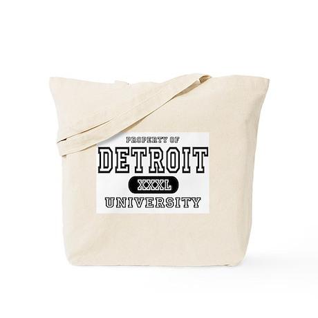 Detroit University Tote Bag
