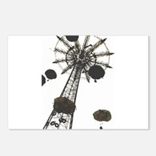 Parachuteride Postcards (Package of 8)