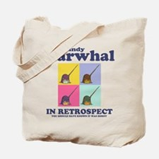 Randy Narwhal Tote Bag