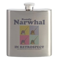 Randy Narwhal Flask