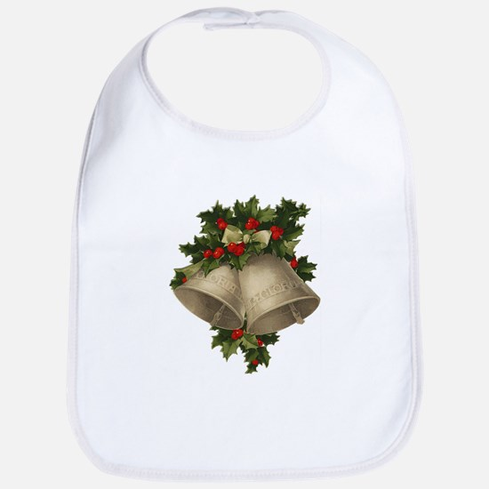 Vintage Christmas Bells - Sliver Bells Bib