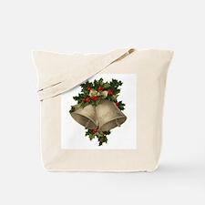 Vintage Christmas Bells - Sliver Bells Tote Bag