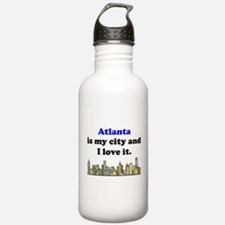Atlanta Is My City And I Love It Water Bottle