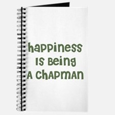 Happiness Is Being A CHAPMAN Journal