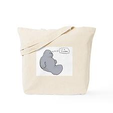 I'm a Manatee (JT) Tote Bag